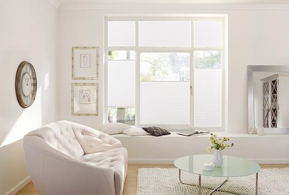 Plissee Sichtschutz Lichtschutz Fenster